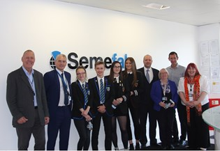 Semefab launches STEM partnership with Glenrothes Secondary Schools